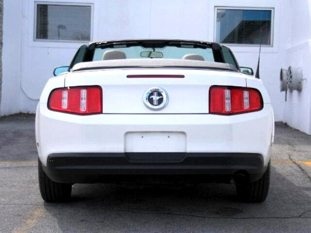 2010 Ford Mustang Premium Convertible Clean w/Leather