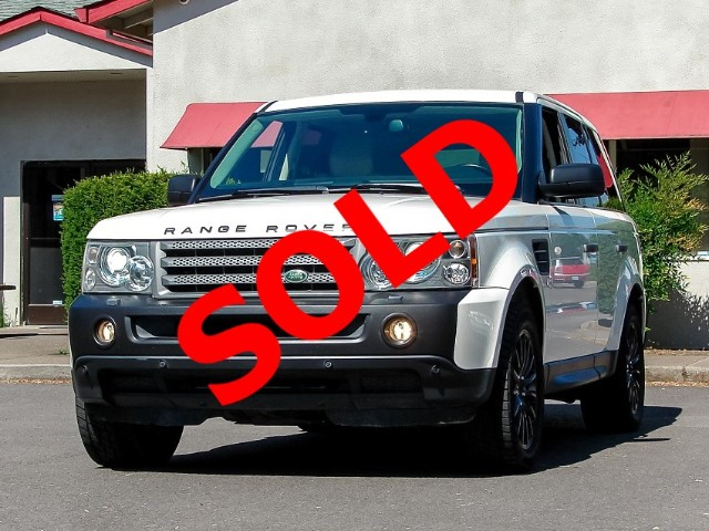 2009 Land Rover Range Rover Sport HSE Clean Willing to Warranty Recent Tran Service