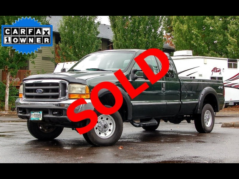 1999 Ford F-250 SD XLT 4WD Long Bed 1-OWNER 7.3-liter DIESEL
