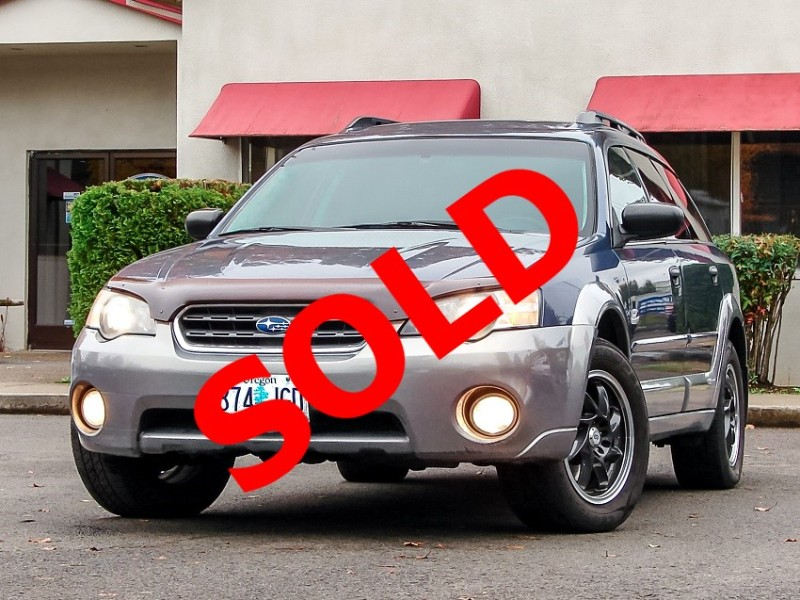 2005 Subaru Outback 2.5i Wagon Clean & Maintained Willing to Warranty