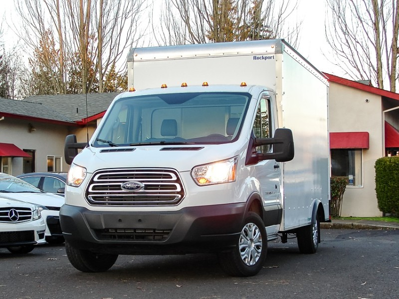 2018 Ford Transit T-350 8k miles only 12x8 Box
