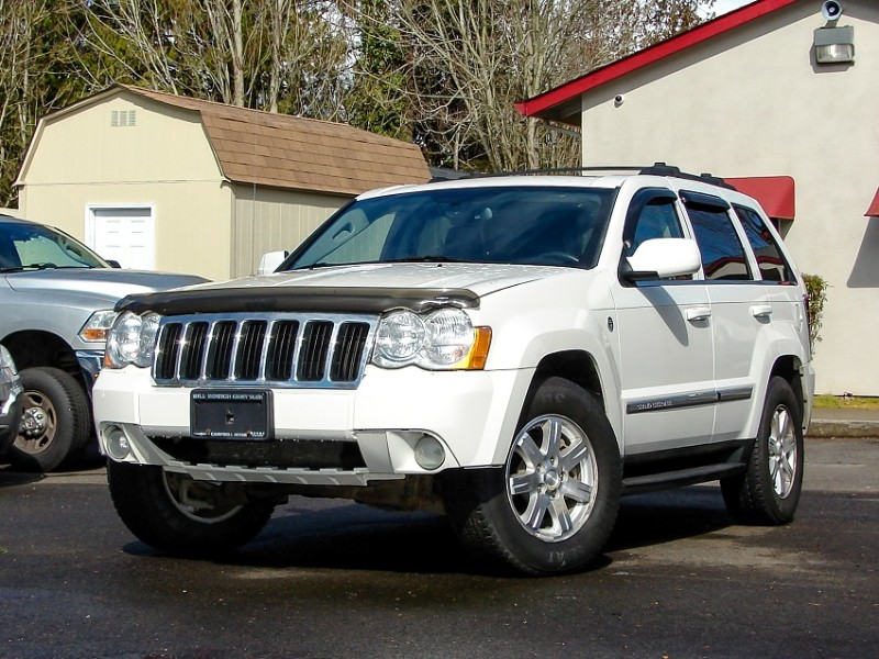 2008 Jeep Grand Cherokee Limited 4WD Trail Rated LOW Miles w/Warranty