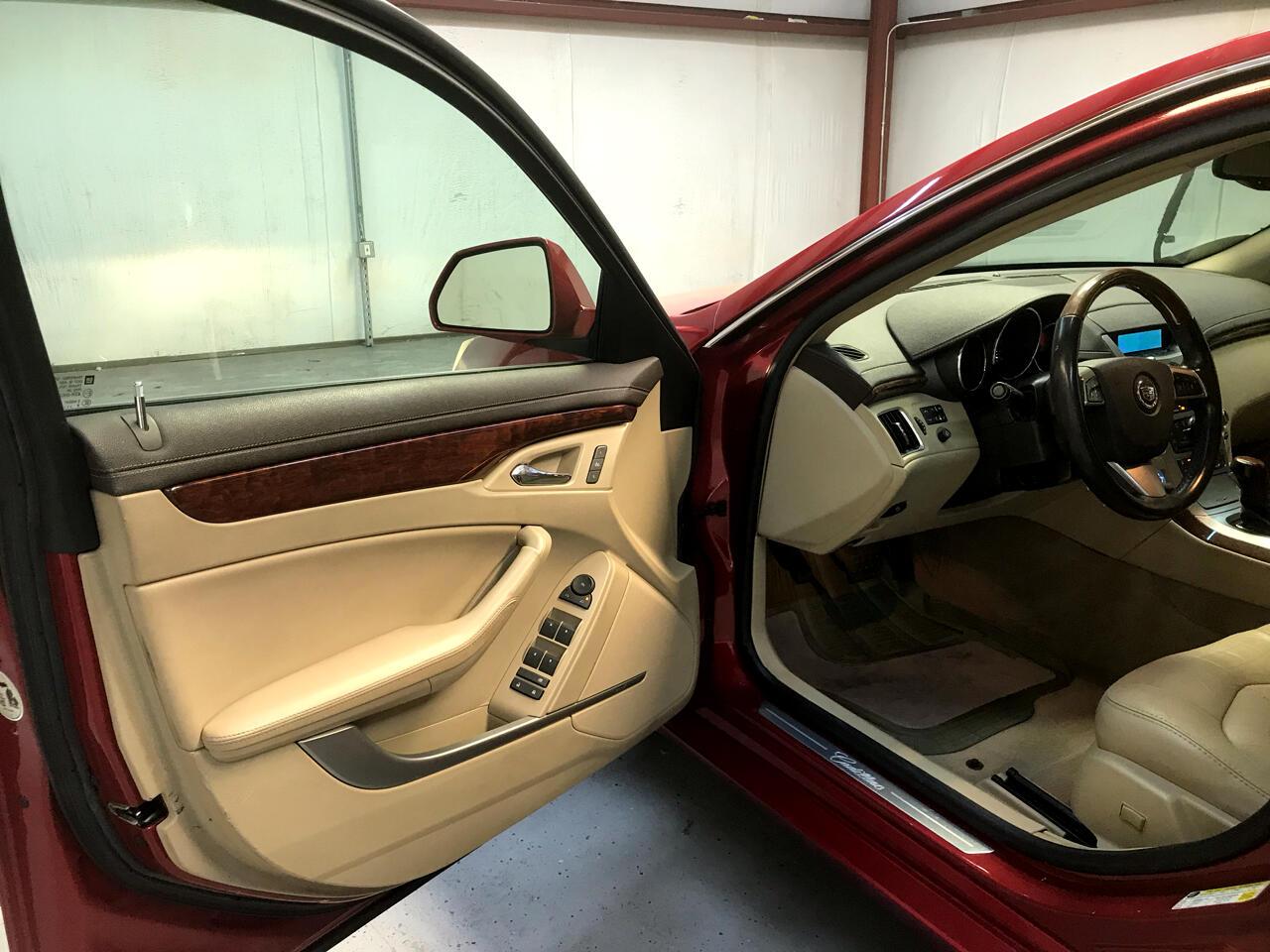 2009 Cadillac CTS 4dr Sdn RWD w/1SB