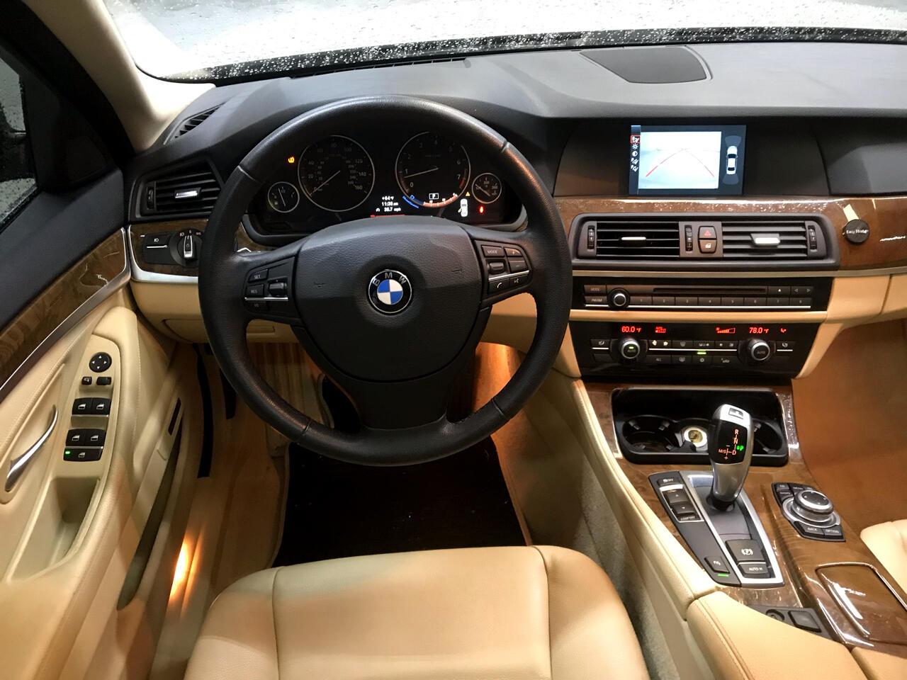 2012 BMW 5 Series 4dr Sdn 535i RWD