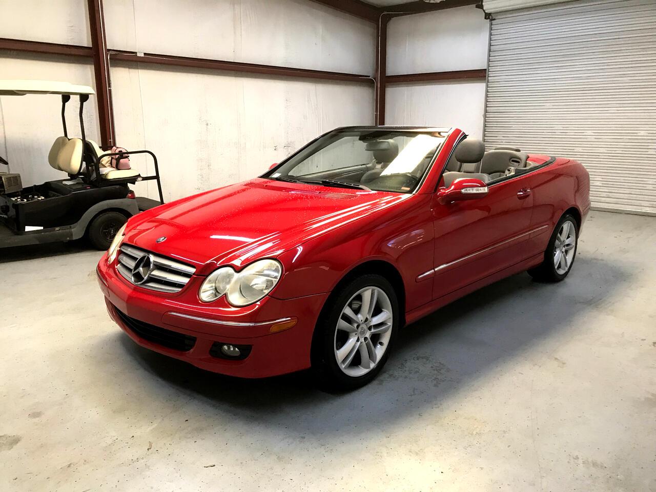 2006 Mercedes-Benz CLK-Class 2dr Cabriolet 3.5L