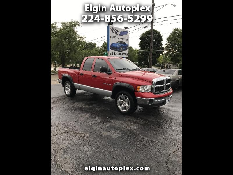 2004 Dodge Ram 1500 Laramie Quad Cab Long Bed 4WD