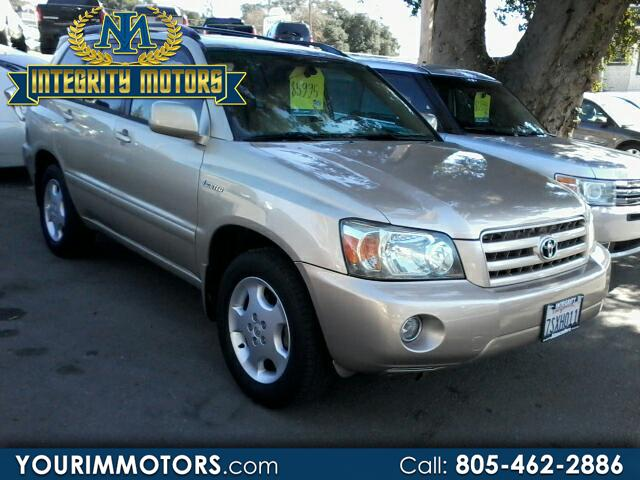 2004 Toyota Highlander V6 2WD with 3rd-Row Seat