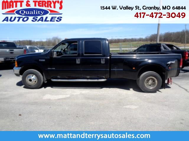 2001 Ford F-350 SD XLT Crew Cab Short Bed 4WD DRW