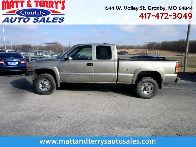 2001 GMC Sierra 2500HD SLE Ext. Cab Short Bed 4WD