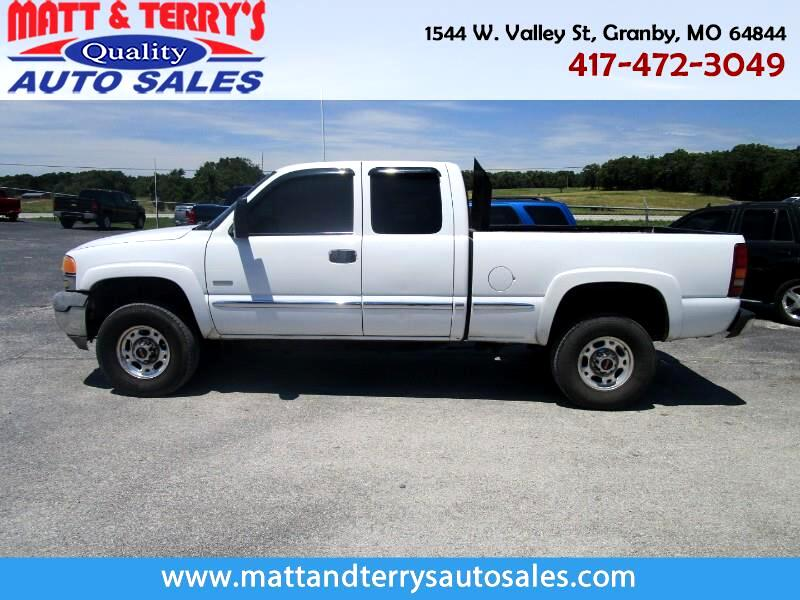 2002 GMC Sierra 2500HD SL Ext. Cab Short Bed 2WD