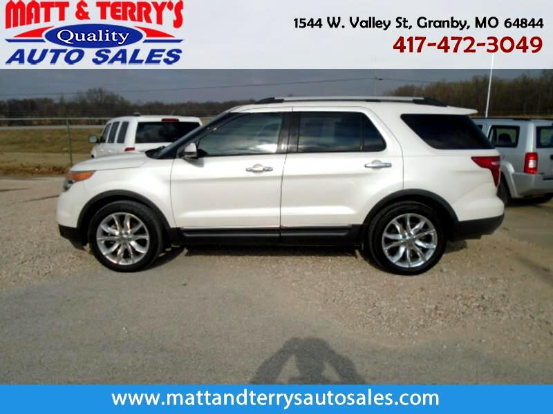2011 Ford Explorer Limited >> Used 2011 Ford Explorer Limited Fwd For Sale In Granby Mo