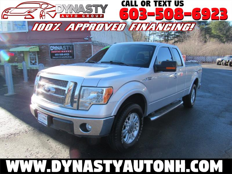 "2010 Ford F-150 4WD SuperCab 133"" Lariat"