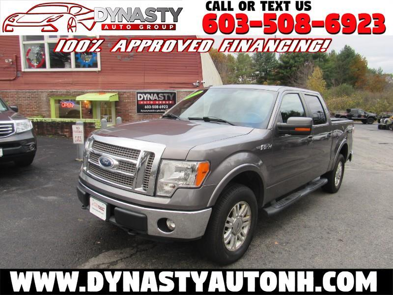 "2011 Ford F-150 4WD SuperCrew 145"" XL"