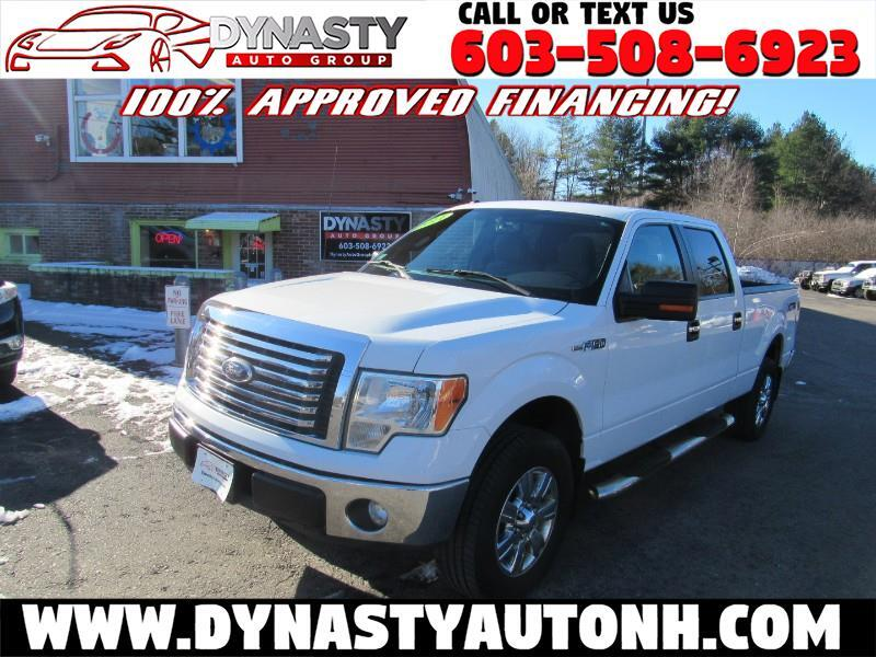"Ford F-150 4WD SuperCrew 145"" XL 2011"
