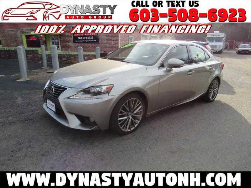 2014 Lexus IS 4dr Sport Sdn Auto AWD