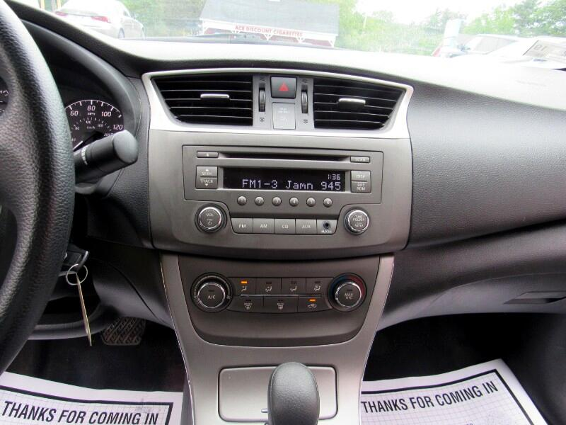 2013 Nissan Sentra 4dr Sdn I4 CVT S