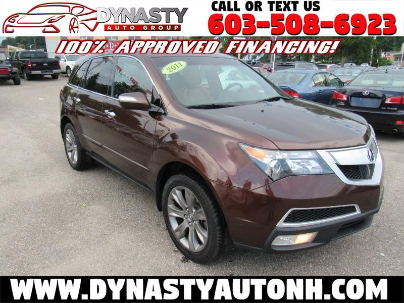 2011 Acura MDX AWD 4dr Advance Pkg