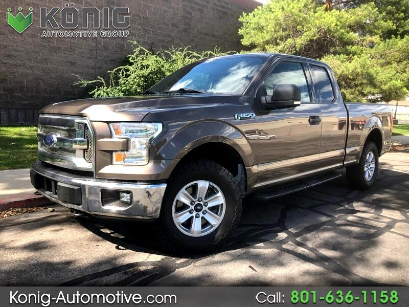 "2015 Ford F-150 Supercab 163"" XLT 4WD"
