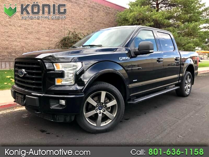 2016 Ford F-150 XLT 4x4 SuperCrew