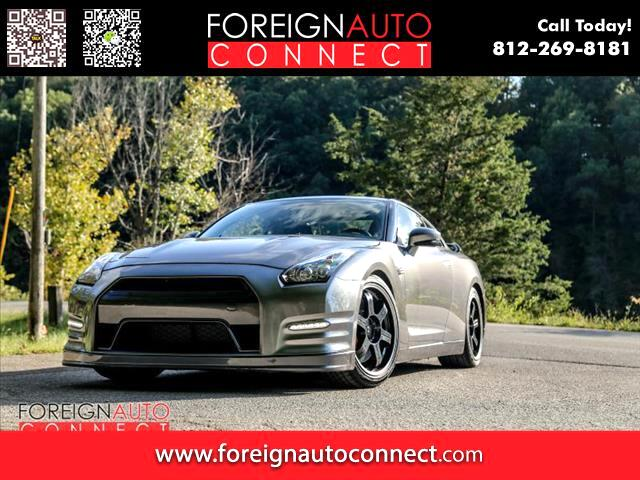 2014 Nissan GT-R 2dr Cpe Black Edition