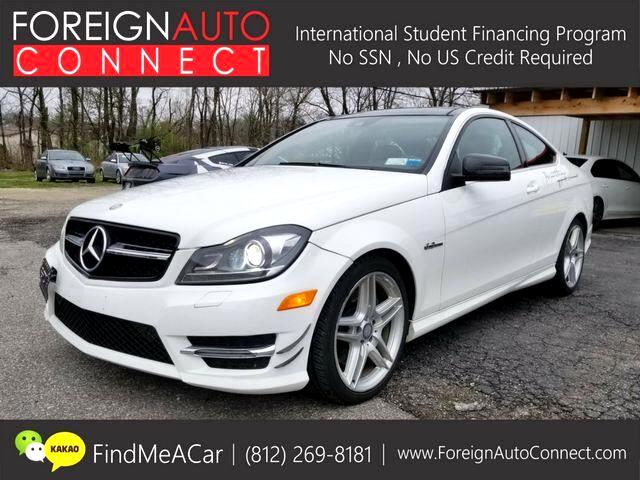 2013 Mercedes-Benz C-Class C350 Coupe 4MATIC
