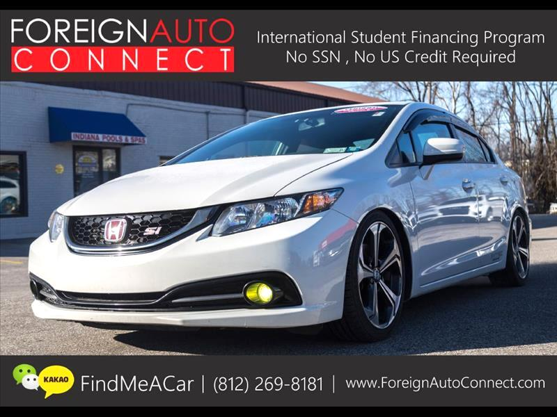 2015 Honda Civic Si 4dr Sedan 6M