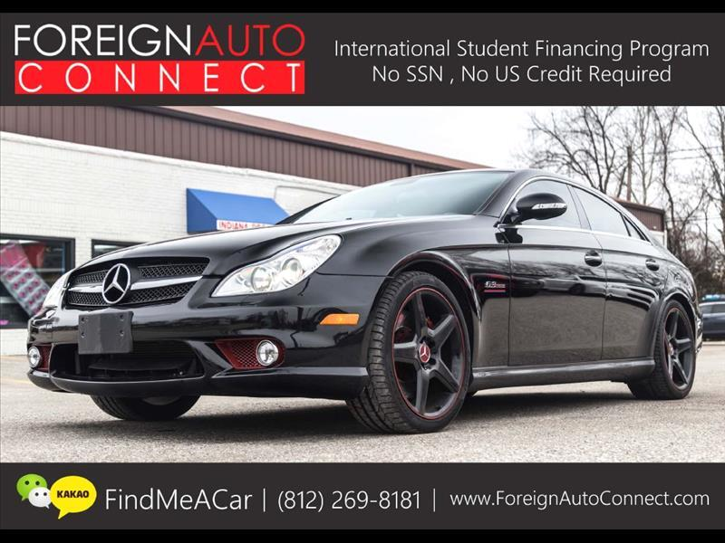 2008 Mercedes-Benz CLS-Class CLS63 AMG 4-Door Coupe