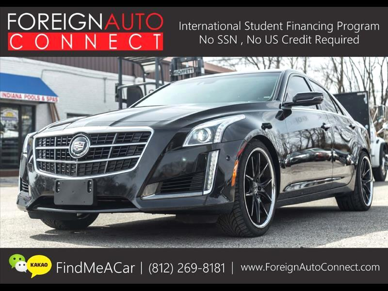 2014 Cadillac CTS 3.6L Twin Turbo Vsport Premium RWD