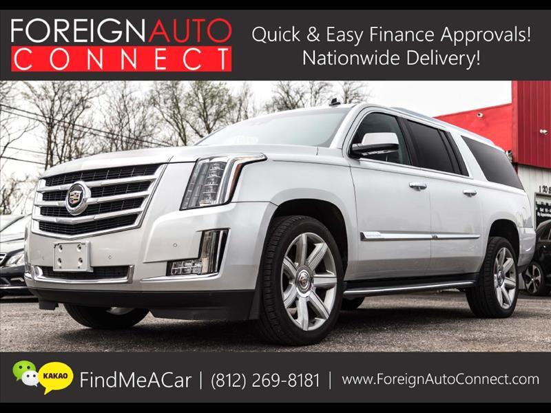 2015 Cadillac Escalade ESV Luxury 4WD