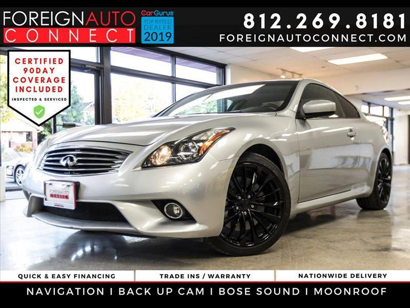 Infiniti G Coupe 2dr Journey RWD 2011