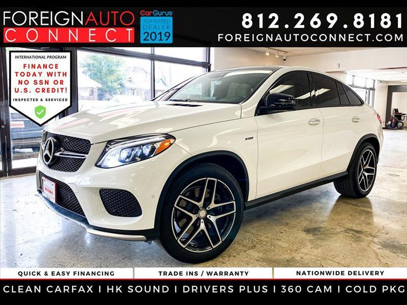 Mercedes-Benz GLE-Class 4MATIC 4dr GLE 450 AMG Cpe 2016