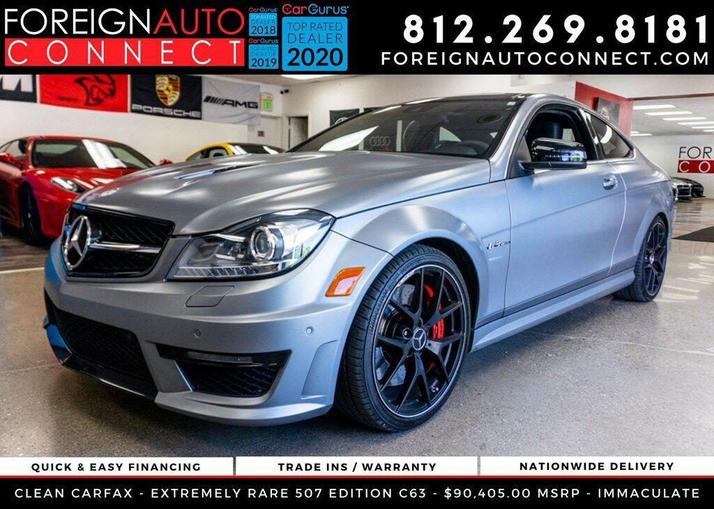 Mercedes-Benz C-Class 2dr Cpe C 63 AMG RWD 2014
