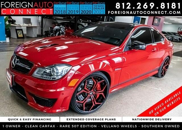 Mercedes-Benz C-Class 2dr Cpe C 63 AMG RWD 2015