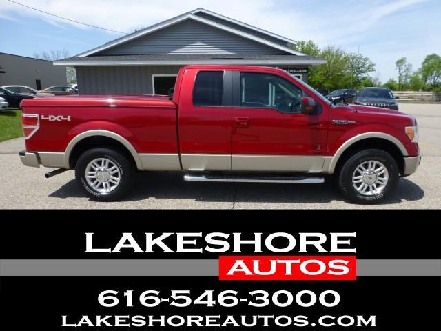 """2010 Ford F-150 4WD SuperCab 145"""" Lariat"""