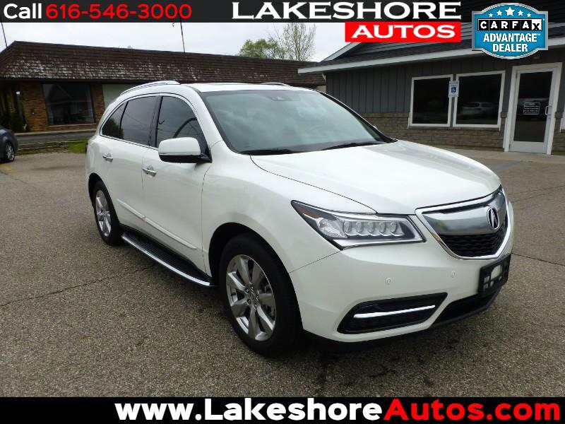 2016 Acura MDX 9-spd SH-AWD w/Tech and Advance Package
