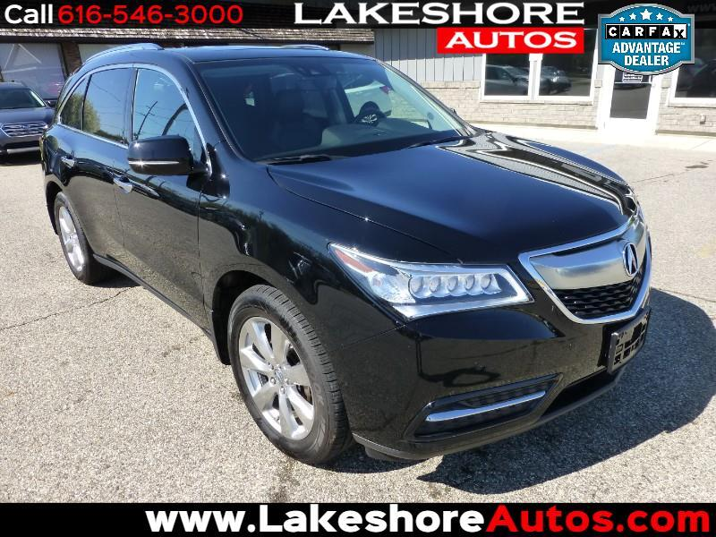 2016 Acura MDX SH-AWD w/Tech and Andvance Package