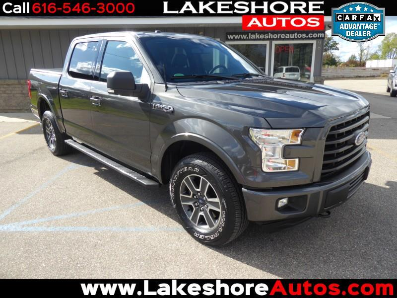 "2015 Ford F-150 4WD SuperCrew 145"" XLT Sport Appearance"