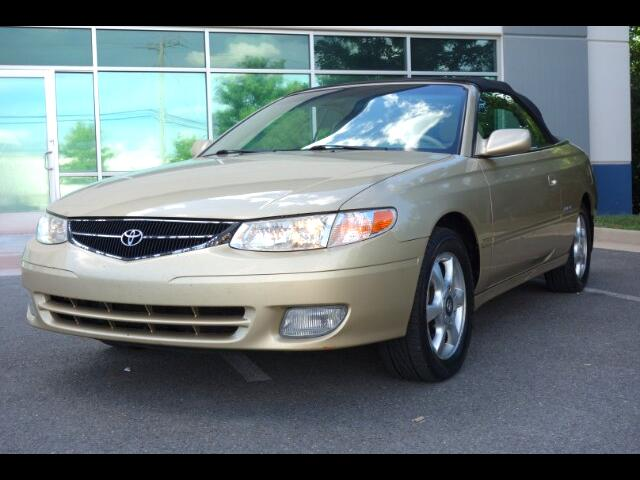 2001 Toyota Camry Solara SE Convertible