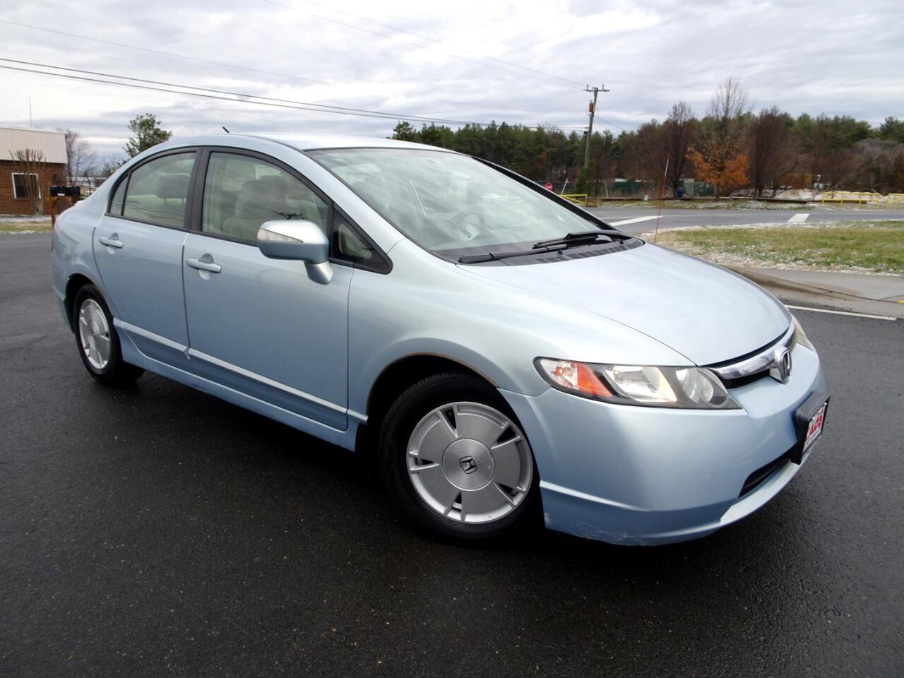 Honda Civic Hybrid CVT AT-PZEV 2007