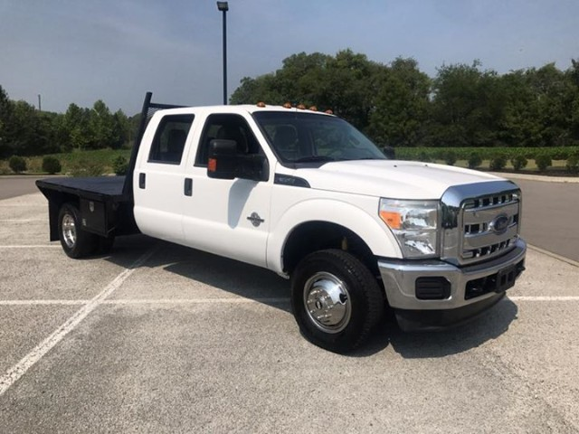 2013 Ford F-350 SD XLT Crew Cab Long Bed DRW 4WD