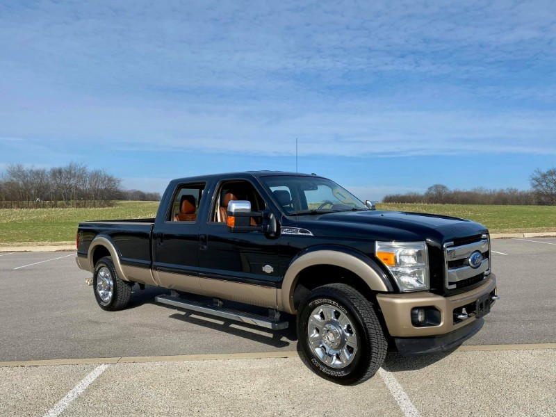 Ford F-250 SD King Ranch Crew Cab Long Bed 4WD 2012