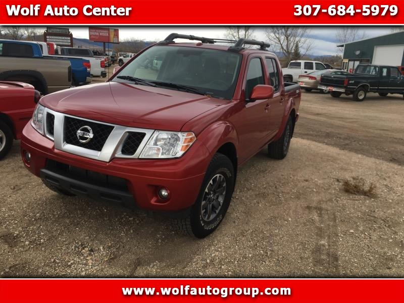 2017 Nissan Frontier 4WD PRO 4X Crew Cab