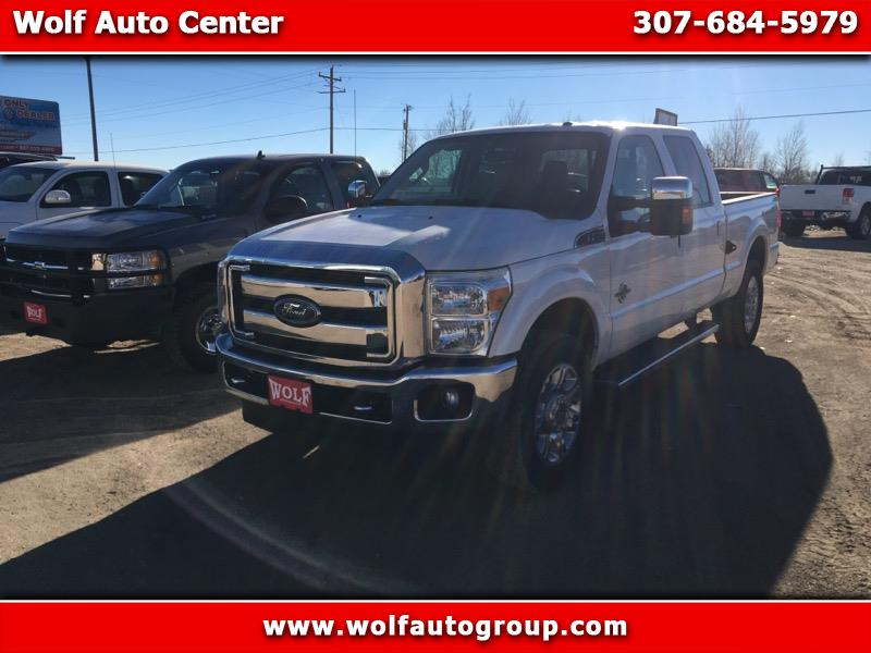 2015 Ford F250 King Ranch Crew Cab 4WD