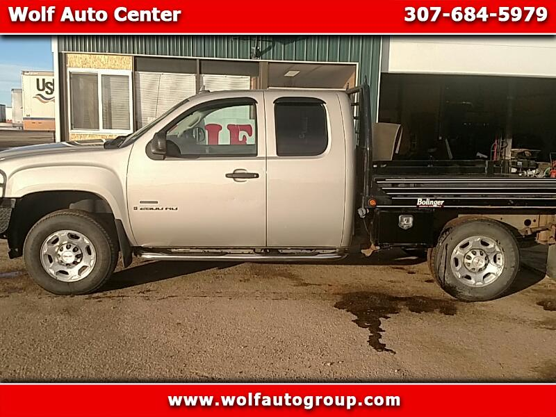 2008 GMC 2500 Pickups HD Club Coupe 155.5