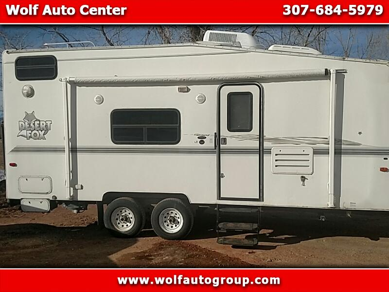 2003 Northwood Manufacturing Desert Fox Toy Haulers Toy Hauler