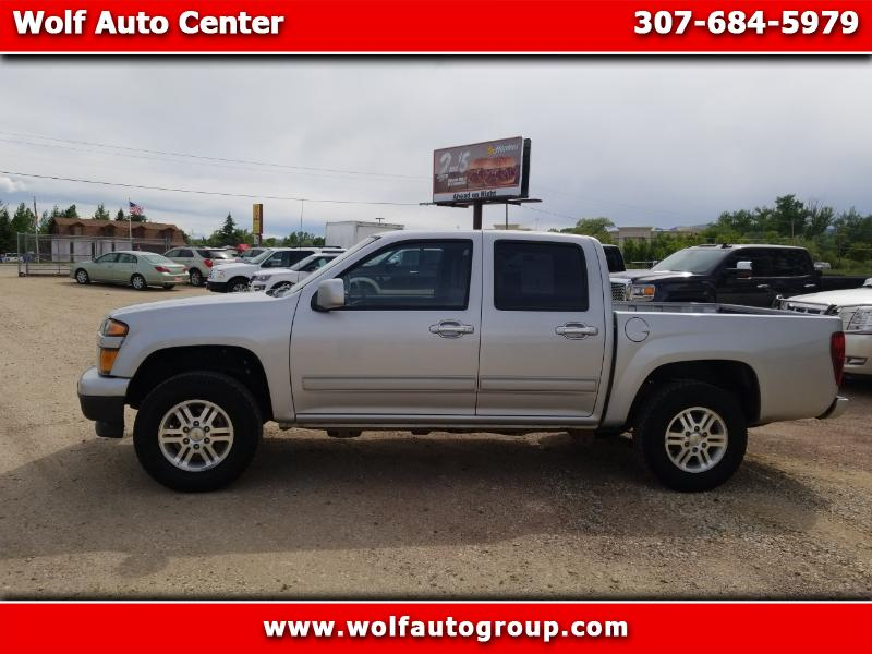 2012 Chevrolet Colorado 4WD Crew Cab 126.0