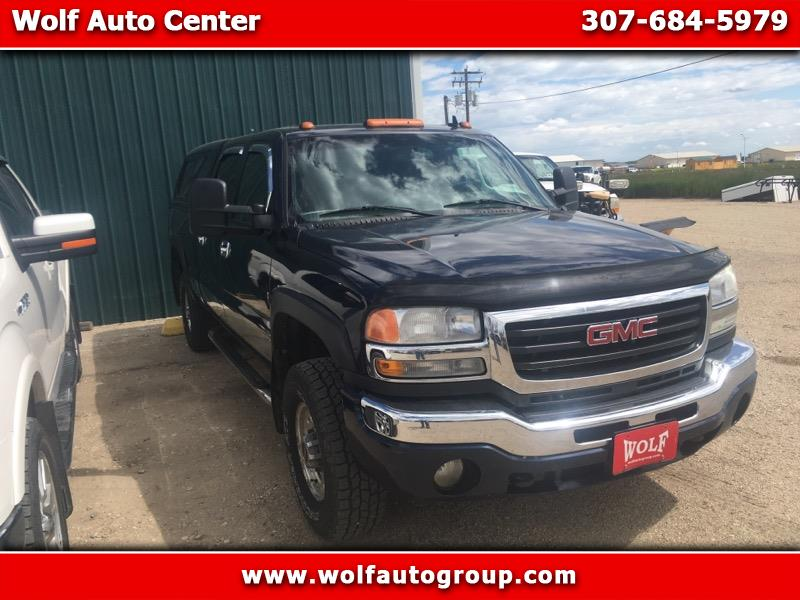 2006 GMC New Sierra 2500 HD 4dr Ext Cab 157.5