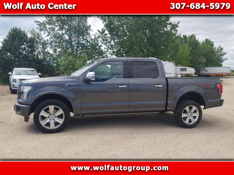"2015 Ford F-150 4WD SuperCrew 145"" Platinum"