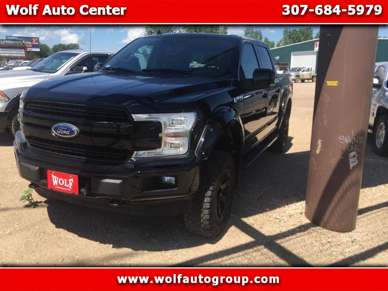 "2018 Ford F-150 4WD SuperCab 133"" Lariat"
