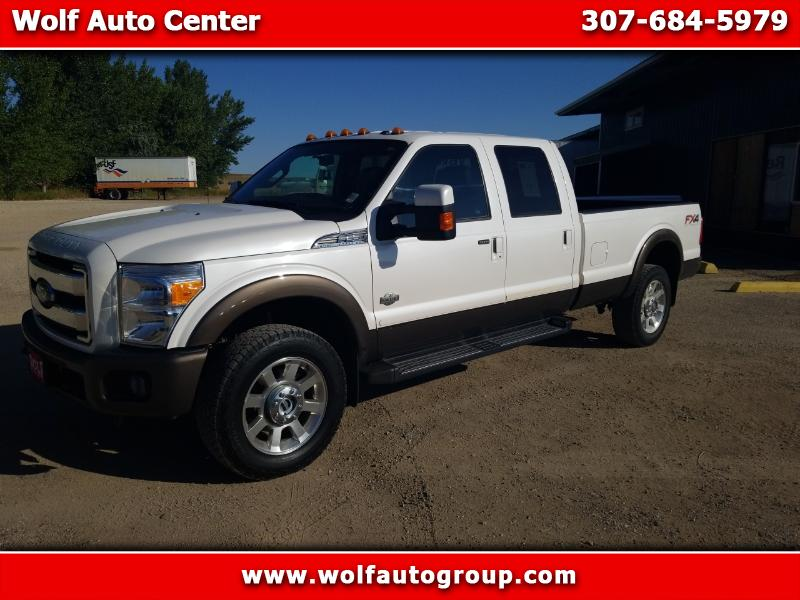 2016 Ford F350 King Ranch Crew Cab 4WD